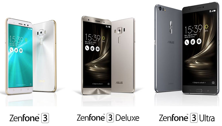Asus launches Zenfone 3, Zenfone 3 Deluxe and Zenfone 3 Ultra in India, prices start at Rs. 21,999