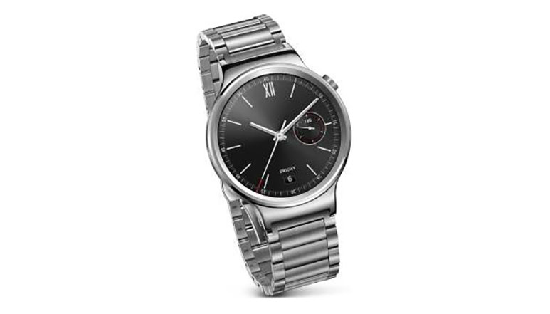 Huawei Watch with Stainless Steel band