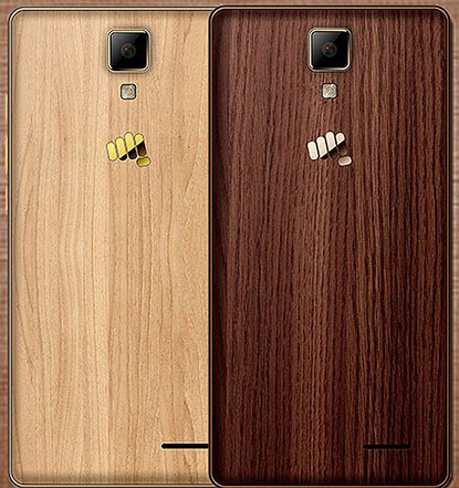 Micromax Canvas 5 Lite Special Edition smartphone with wood-finish rear panel launching soon