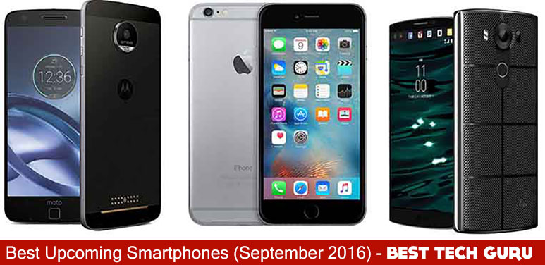 Best Upcoming Smartphones in September 2016
