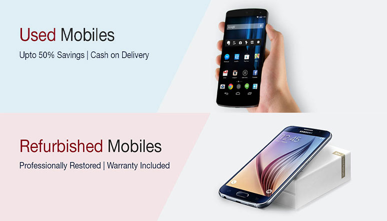 Amazon India launches a new store for Refurbished and Used Smartphones