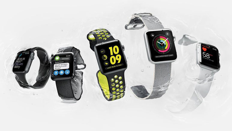 Apple Watch Series 2 with brighter display and built-in GPS announced
