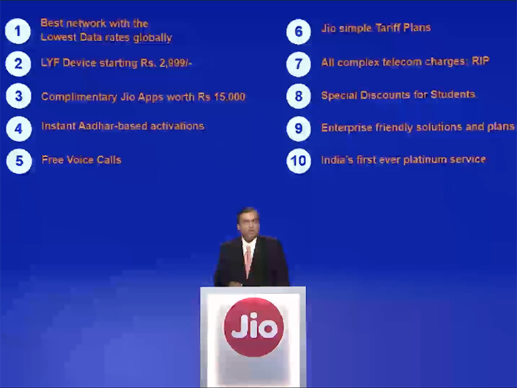 Jio Highlights