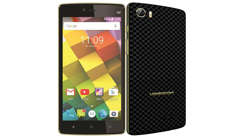 Videocon Cube 3 with 5-inch screen, 3GB RAM, VoLTE and Panic Button launched at Rs. 8490