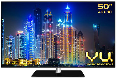 Vu 50K310 (50) 3D Ultra HD 4k Smart LED TV - best LED TV under 60000 - Best Tech Guru