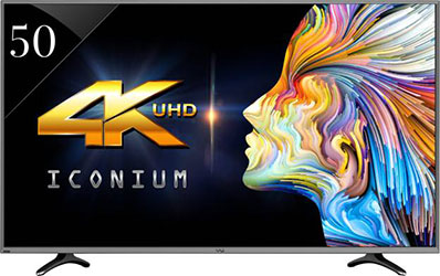 Vu LEDN50K310X3D (50) 4K Smart LED TV - best LED TV under 50000 - Best Tech Guru