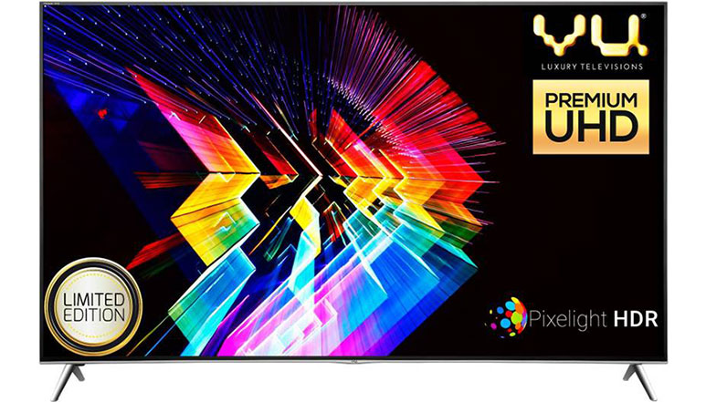 Vu launches two 4K HDR and two 4K Curved Android Smart TVs in its luxury range, starting at 1 lakh rupees