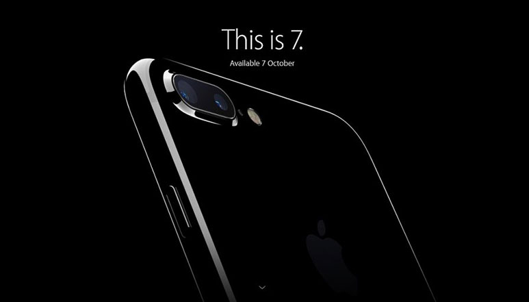 Apple iPhone 7 and iPhone 7 Plus with A10 Fusion SoC and 7MP front camera announced