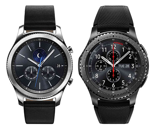 samsung gear s3 classic and gear s3 frontier smartwatch launched at