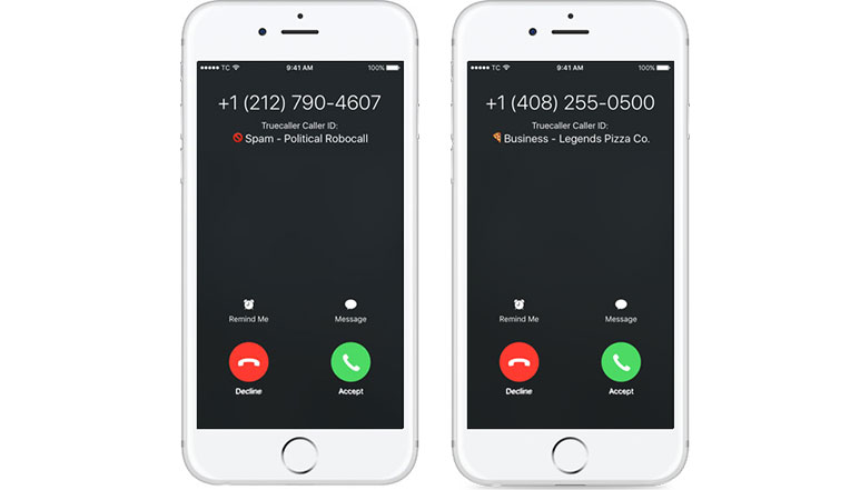 TrueCaller brings Live Caller ID and Spam Protection features for iOS 10