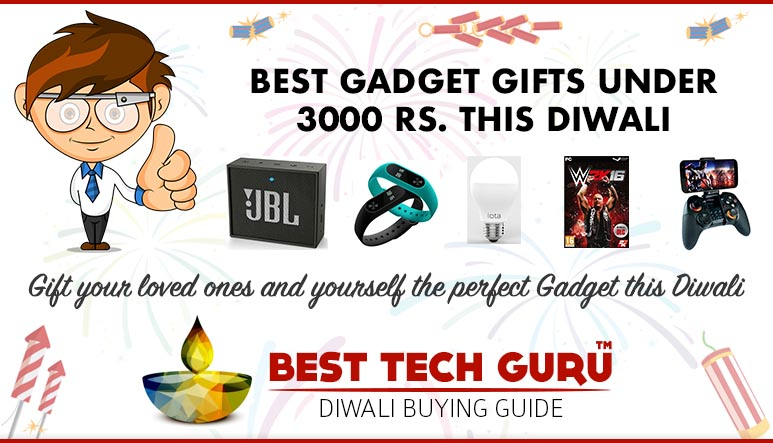 Best Gadget Gifts under Rs. 3000 this Diwali