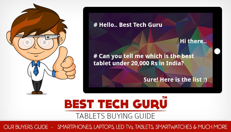 5 Best Tablets under 20000 Rs in India (January 2017 ...