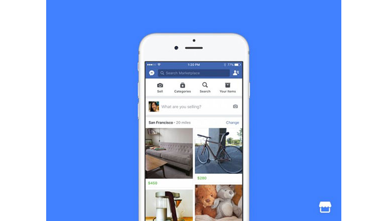 Facebook launches 'Marketplace' to let users buy and sell items from nearby users