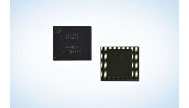Samsung introduces industry's first 8GB LPDDR4 RAM for next-gen smartphones