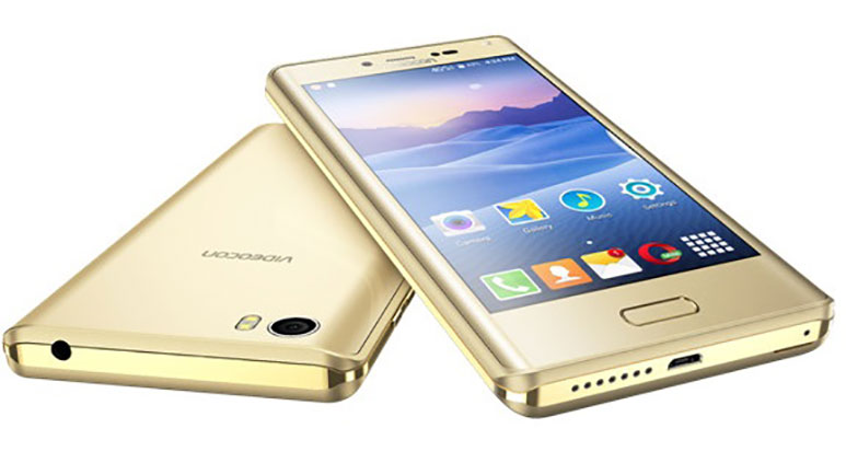 Videocon Ultra50 with 5-inch HD display, 3GB RAM, Fingerprint Sensor launched at Rs. 8,990