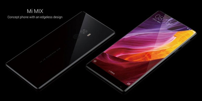 Xiaomi Mi MIX with 6.4-inch bezel-less display, Snapdragon 821 SoC launched in China