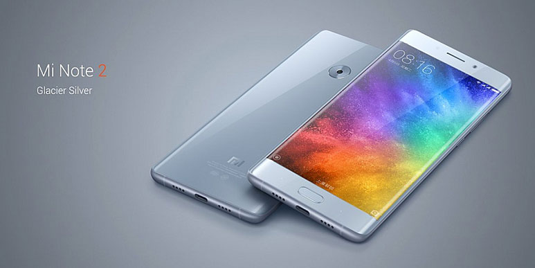 "Xiaomi Mi Note 2 with 5.7"" dual-curved OLED display, 22.56MP rear camera, Snapdragon 821 SoC launched in China"