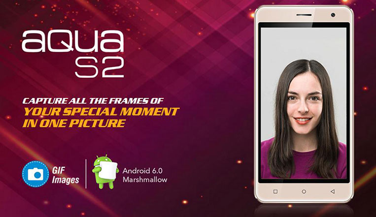 Intex Aqua S2; cheapest smartphone with a fingerprint sensor launched in India at Rs. 4,990