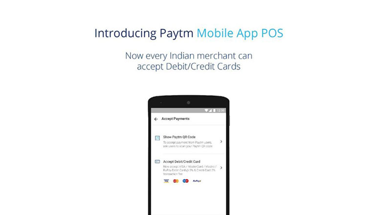 Paytm launches POS app; lets merchants accept debit and credit card payments
