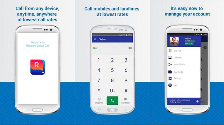 Reliance Global Call launches 'RGC India' app for International voice calls at Rs. 1.4/min