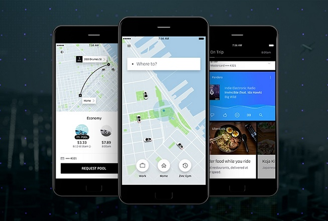 Uber app redesigned with new maps, simple interface and Shortcuts feature