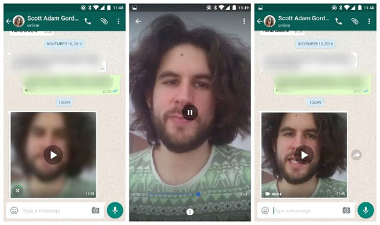 WhatsApp Beta for Android allows streaming of videos while downloading