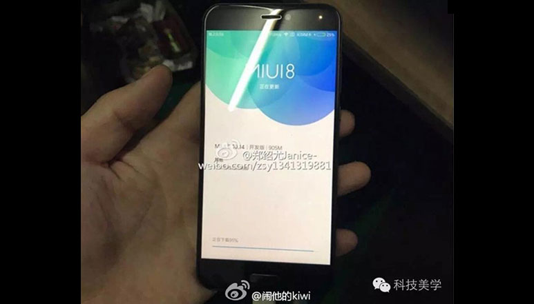 Xiaomi Mi 5c leaked in live images; tipped to sport in-house Pinecone SoC