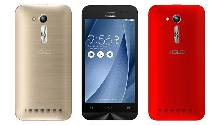 Asus ZenFone Go 4.5 LTE with Snapdragon 410 SoC, 8MP rear camera launched in India at Rs. 6,999