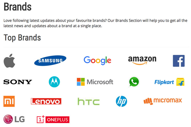 Launching 'Brands' Section on Best Tech Guru