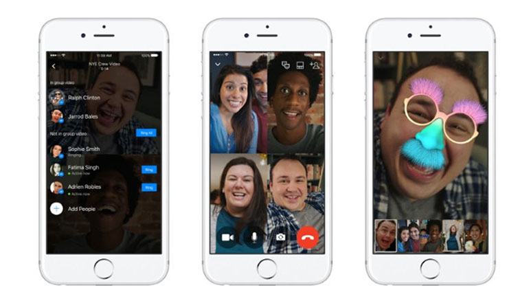 Facebook Messenger brings Group Video Calling with up to 6 people on-screen