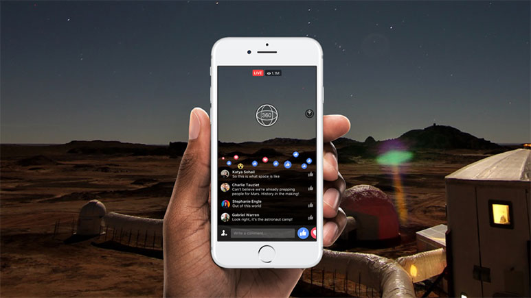 Facebook launches Live 360 degree videos; to be available for all in 2017