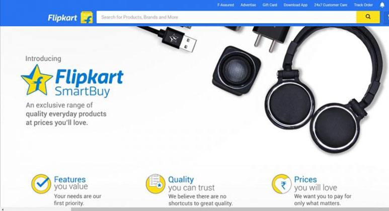 Flipkart launches its private label business under 'SmartBuy'