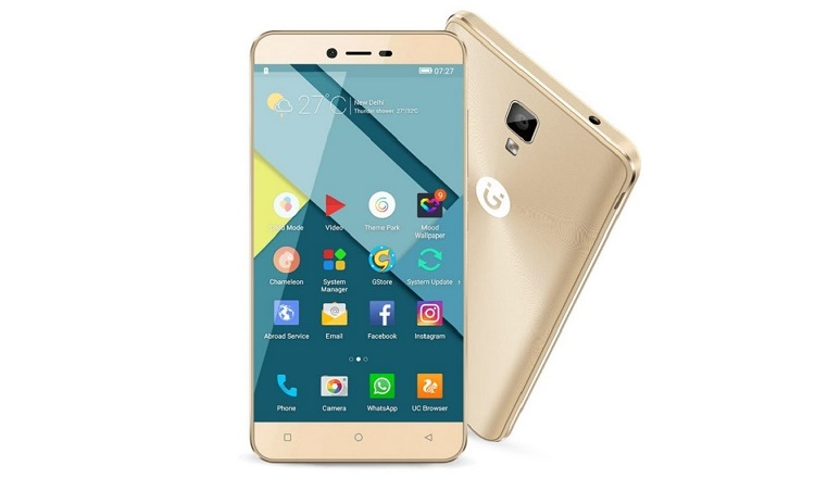 Gionee P7 with 5-inch display, 2GB RAM, 4G VoLTE launched in India at Rs. 9,999