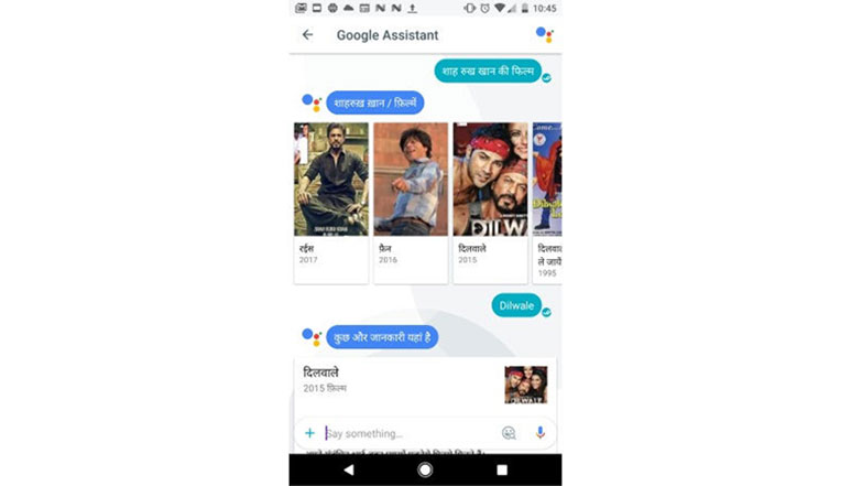 Google Allo gets Hindi support for Google Assistant and Smart replies