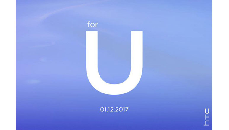 HTC schedules 'for U' event for its next product announcement on 12th January 2017