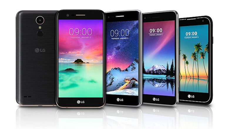 LG K3, K4, K8, K10 and Stylus 3 smartphones announced ahead of CES 2017