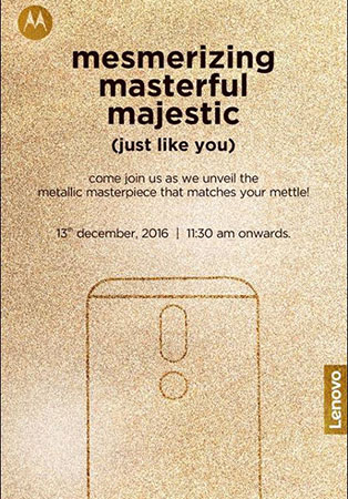 Motorola Moto M with 5.5-inch FHD display, Helio P15 SoC, 4GB RAM set to launch in India on 13th December