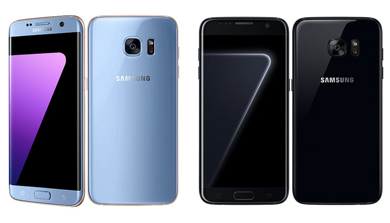 Samsung Galaxy S7 edge now available in Blue Coral and Black Pearl variants starting at Rs. 50,900