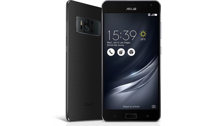 Asus Zenfone AR; World's first smartphone with 8GB RAM, Tango and Google's Daydream support announced at CES 2017