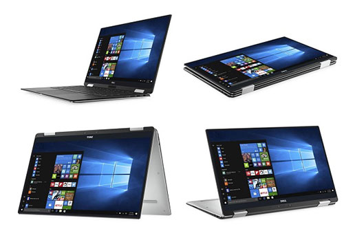 Dell XPS 13 2-in-1 laptop with InfinityEdge bezel display announced