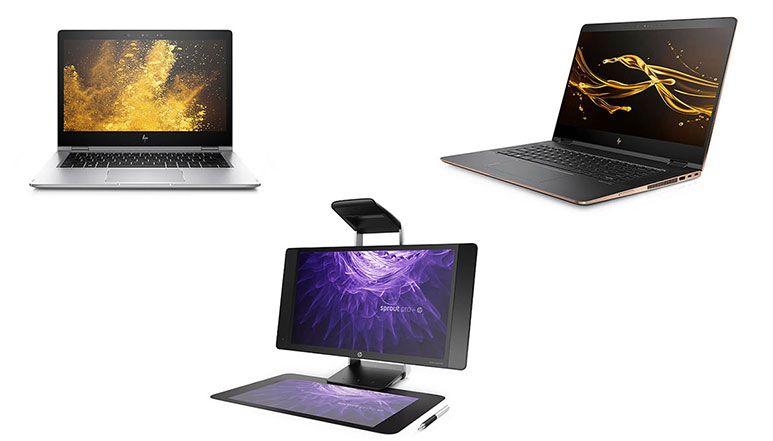 HP 15.6-inch Spectre x360, Refreshed EliteBook x360 and more announced at CES 2017