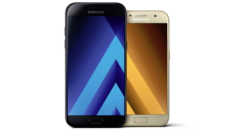 Samsung Galaxy A (2017) series water resistant smartphones announced