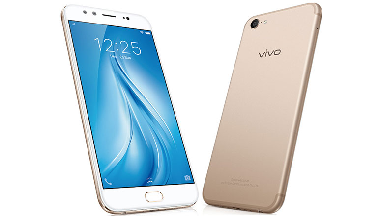 Vivo V5 Plus with 20MP + 8MP dual front cameras, 4GB RAM launched in India at Rs. 27,980