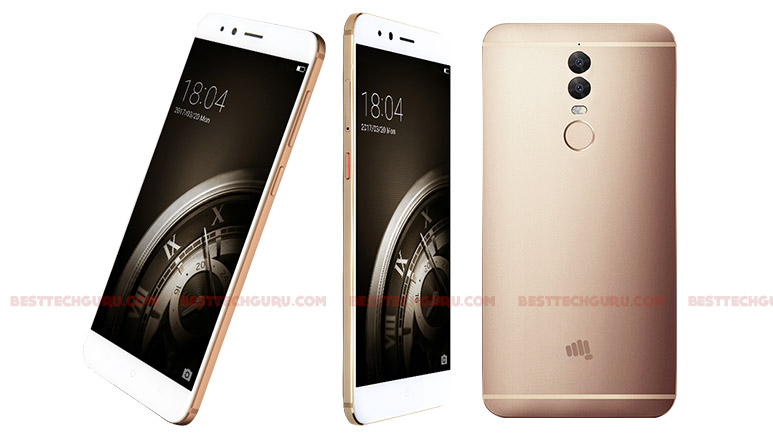 Micromax Dual 5 with dual 13 MP cameras, Snapdragon 652 & serious security features launched at Rs. 24,999