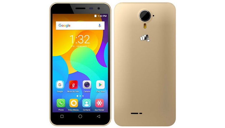 Micromax launches its entry level 4G smartphone 'Spark Vdeo' at Rs. 4,499