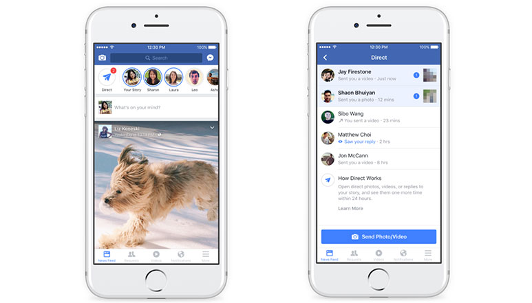 Facebook launches 'Stories' with lots of Camera Filters for its Android & iOS apps