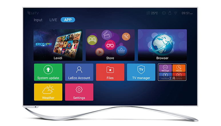 LeEco launches new range of 'Super4' series Smart TVs starting at Rs. 46,990