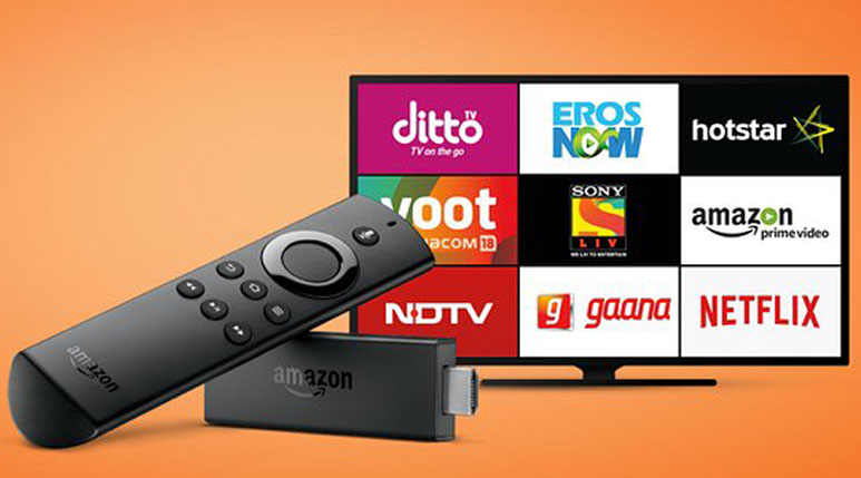 Amazon Fire TV Stick, a media streaming device with Voice Remote launched in India at Rs. 3,999