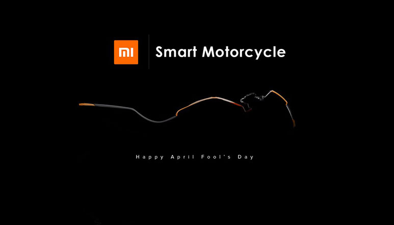 Xiaomi's 'Mi Smart Motorcycle' was just another April Fool's day prank