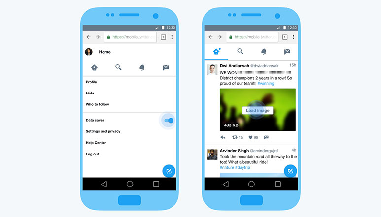 Twitter Lite, a fast & data saving mobile web version of Twitter launched